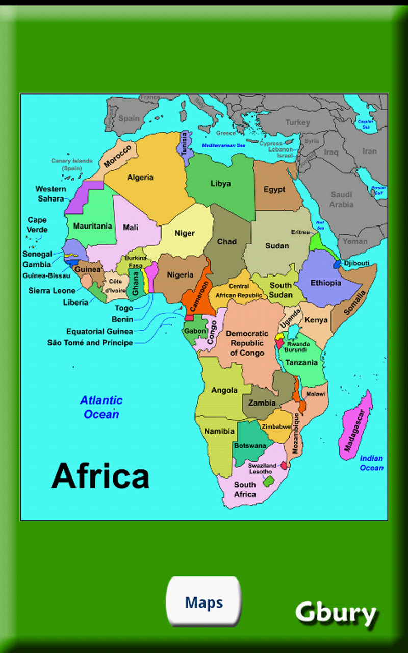 african countries and capitals game